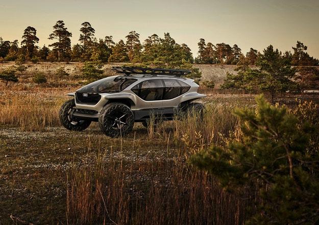 Audi AI:TRAIL quattro: Всъдеходът на бъдещето