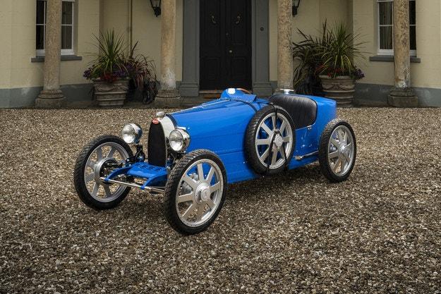 Bugatti Baby II или миниатюрата Type 35