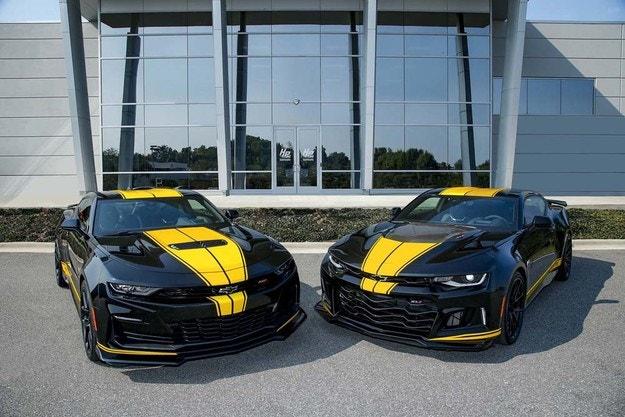Мускулни автомобили специално за Hertz