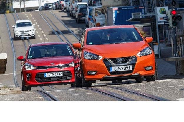 Kia Rio 1.0 T-GDI и Nissan Micra IG-T