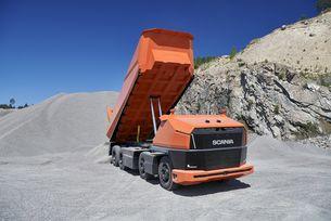 Автономният камион Scania AXL няма кабина