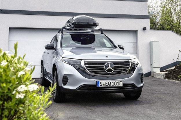 Mercedes EQC предлага голям избор на аксесоари