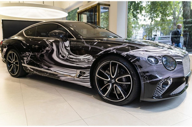 Bentley представи уникален Continental GT