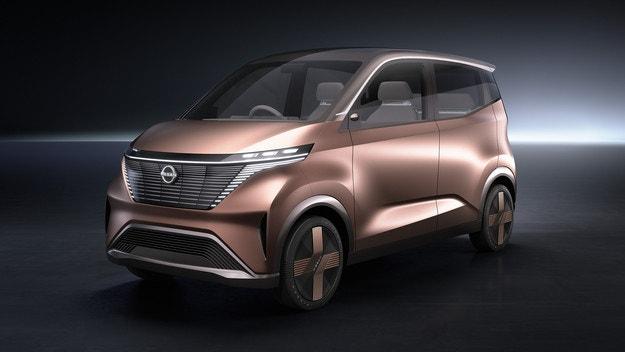 Концептът Nissan IMk предлага решение за града