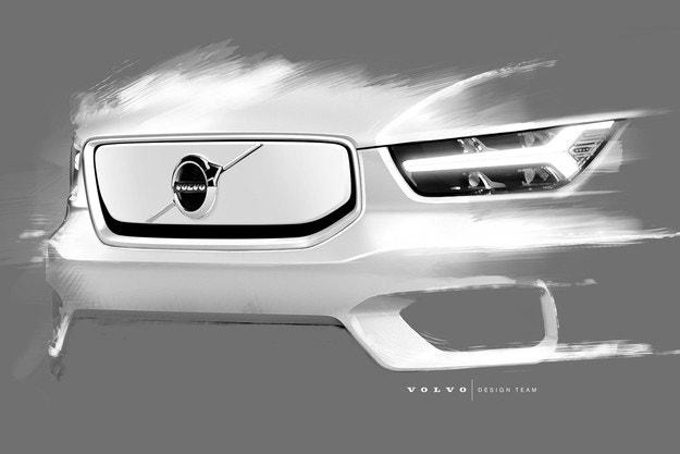 Volvo разкри повече за своя електрически XC40