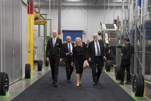 Nokian Tyres откри нова фабрика в САЩ