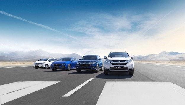Honda с 3 новости и 1 премиера на салона в София