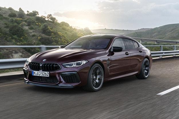 Представяме новото BMW M8 Гран Купе