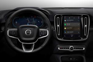 Volvo XC40 с напълно нова инфотейнмънт система