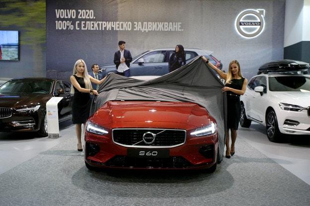 Volvo представя своите пет ключовите моделa в София