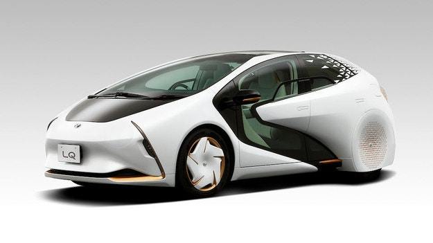 Toyota разработи електрически автономен концепт