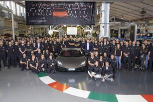 Рекордно производство на Lamborghini Huracan