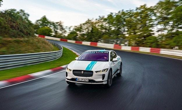 Jaguar I-Pace стана първото в света електрически такси