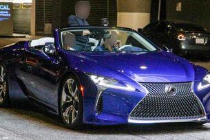 Разсекретиха кабриолета Lexus LC в аванс