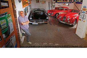 Chevrolet Corvette, Ford Thunderbird, Jaguar XK 140