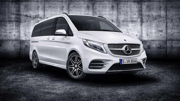 Mercedes-Benz показа обновения миниван V-класа