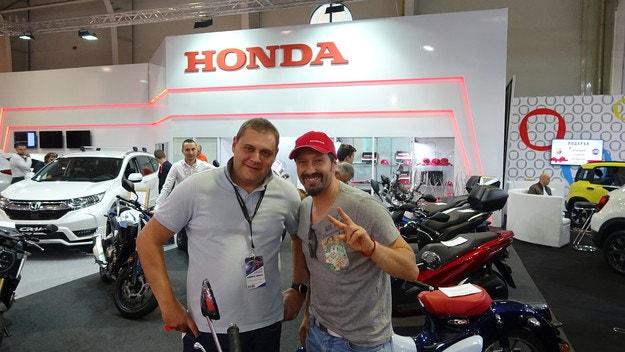 Калин Врачански хареса Honda Monkey, чака CB1000R