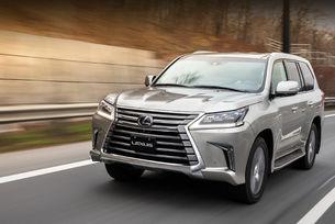 Lexus LX 600 SUV ще стане шестцилиндров