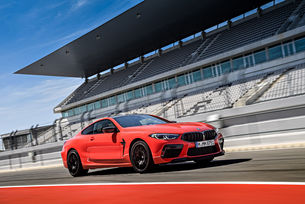 Направиха специални гуми Pirelli P Zero за BMW M8