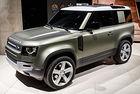 Land Rover Defender ще стане конкурент на G-класата