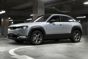 Първият електромобил Mazda с необичайни врати