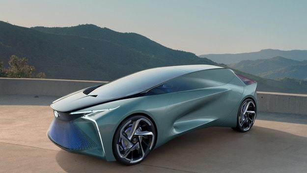 Lexus LF-30 разкрива бъдещето на електромобила