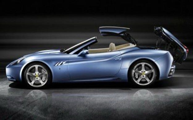 Azzurro Ferrari California
