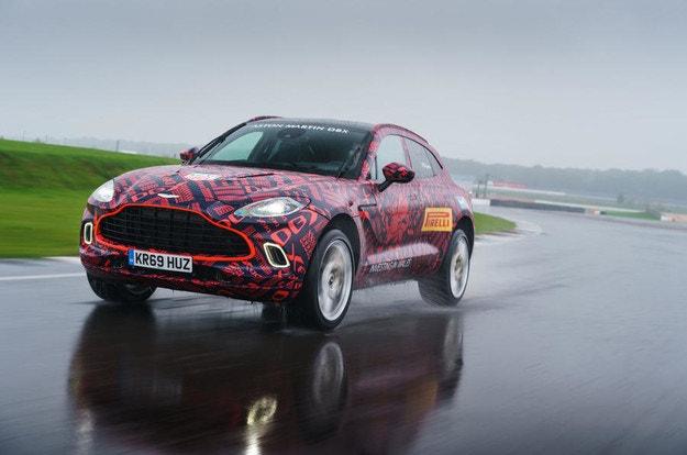 Aston Martin обяви цената на първия кросоувър