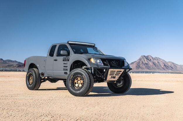 Nissan Frontier Desert Runner впечатлява с двигателя