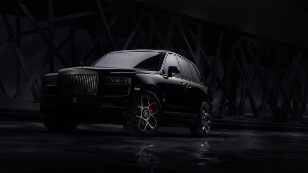 Rolls-Royce разсекрети кросоувъра Cullinan Black Badge