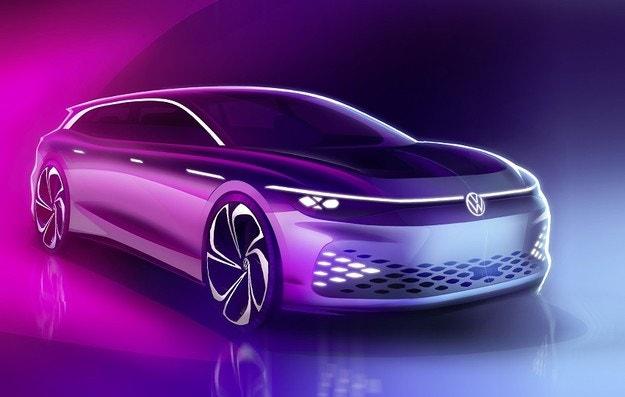 Volkswagen ще покаже в LA комби със салон като Tesla