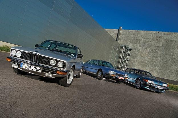 BMW 520, Citroen CX, Rover 3500
