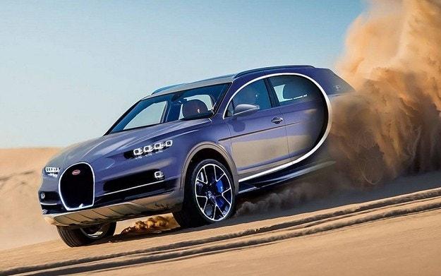 """Bugatti ще пусне """"достъпна"""" алтернатива на Chiron"""