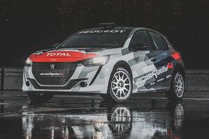 Peugeot показа състезателния 208 Rally 4