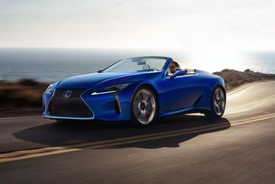 Lexus LC стана луксозен кабриолет