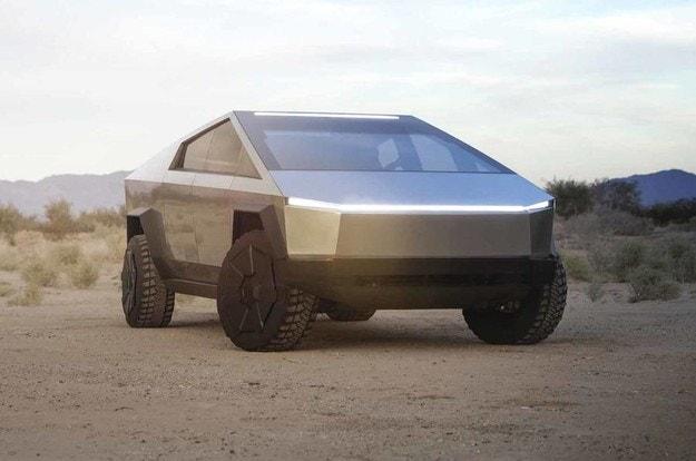 Tesla разкрива бронирания пикап Cybertruck
