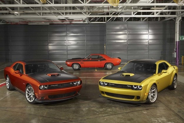 Това е Dodge Challenger 50th Anniversary Edition