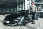 Карлос Сайнц получи своя McLaren 600LT Spider