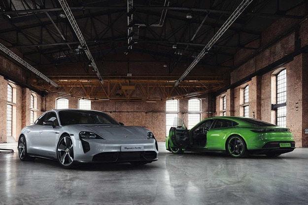 Porsche Taycan: елементи от въглеродни влакна