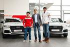 БГ ски състезатели получиха нови автомобили Audi
