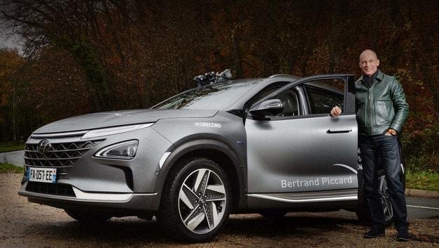 Hyundai Nexo постави рекорд с водород