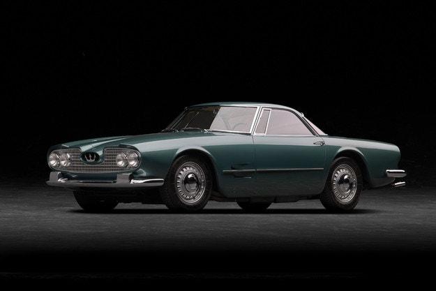 Maserati празнува 60 години от 5000 GT