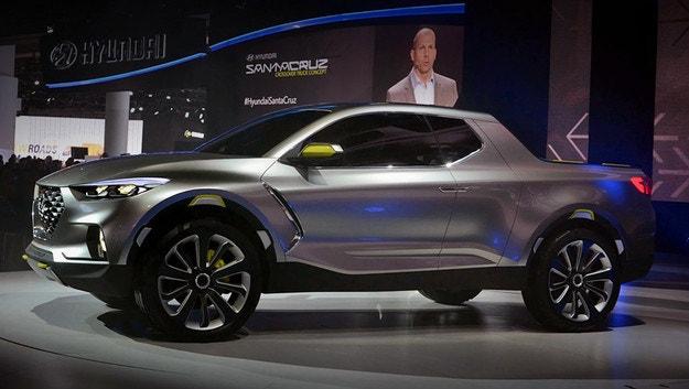 Пикапът Hyundai Santa Cruz става сериен през 2021
