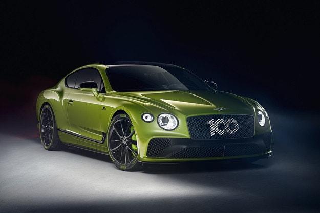 Bentley Continental GT Limited Edition в чест на рекорд