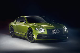 Bentley Continental GT Limited Edition в чест на рекорд