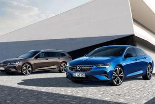 Обновиха фамилията Opel Insignia с нови светлини