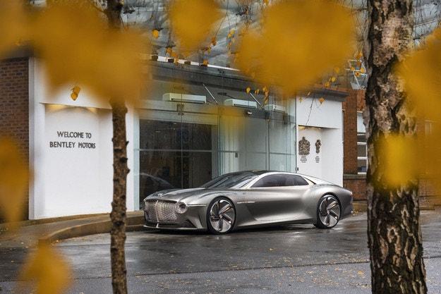 Bentley Motors: 100 дървета за столетието