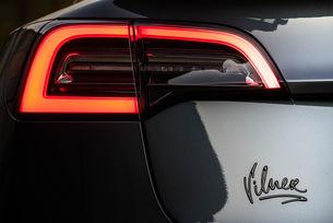 Монотонният свят на Tesla в цветовете на Vilner