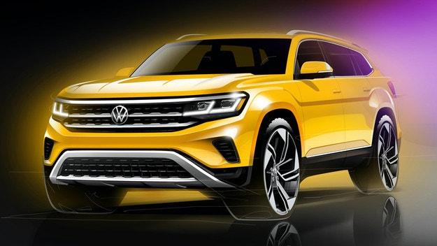 Обновеният VW Atlas дебютира през февруари