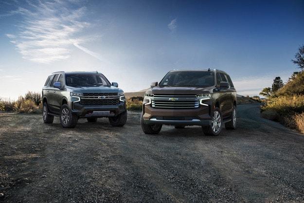 Chevrolet представя новите Tahoe и Suburban